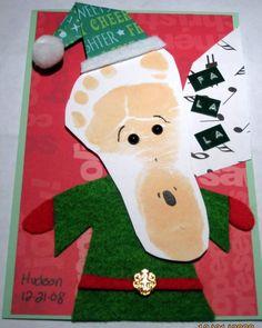 tarjetas de Navidad hechas a mano   Manualidades Infantiles