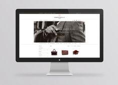 Responsive website for London based tailor Roberto Revilla designed by Friends