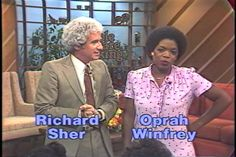 """Since I grew up in Maryland, I still remember Oprah Winfrey in the late 70's on the local news & a local talk show done by the same station called """"People are Talking"""".  Later when """"The Color Purple"""" came out everyone in MD was like, """"OMG, that's the news lady.""""  :)  My favorite """"news lady"""" growing up though was actually Renee Poussaint, from a rival DC station.  Shh, don't tell Oprah that.  :)"""