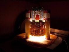 Luminária PVC_Castelo