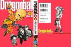 Dragon Ball Kanzenban Volume #03 - Front/Back Cover