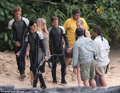 Hunger Games behind the scene