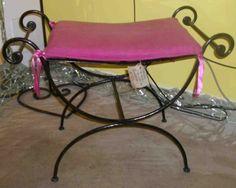Panchina in ferro (Artigianato Marocco, Mobili in ferro) di Artigianato Vulcano, eCommerce specializzato nella vendita di articoli etnici, marocchini e orientali.