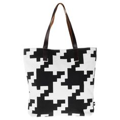 Houndstooth Tote.