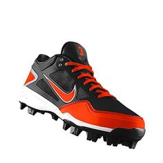 reputable site 0fbc8 63ec3 I designed this at NIKEiD Softball Shoes, Softball Drills, Fastpitch  Softball, Softball Cleats