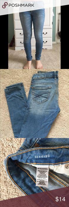 Barely worn Aeropostale jeans Aeropostale 00 Reg/Normal Jeggings Aeropostale Jeans Skinny