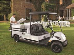 Commercial Yamaha Golf Carts, Commercial