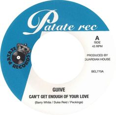 Guive - Can't Get Enough Of Your Love / Sexual Healing:超ナイスなカヴァー。こんだけ見事に歌われるとなんも言うことない。Reggaeのことマダマダ知らん事多いのだけど、バックは昔のTreasure IsleってレーベルのRock Stadyな音源で、それにSoulのメロディと歌詞のカヴァーを乗っけてるという感じみたい。(Record Labelパロディ基のPeckingsのアイディアをそのまま流用してるらしい)A面はPhillis Dillon - Don't Stay Awayのトラックに、Barry WhiteのCan't Get Enough Of Your Love。B面はParagons - Only A SmileのトラックにMarvin GayeのSexual Healingを乗せ歌い上げるってな感じ。いやーホント良いです。かなり。
