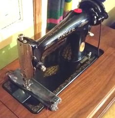 Singer model 66 treadle sewing machine