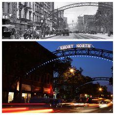 Short North - Columbus, Ohio          Then & Now