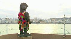 Yarnbombing A Coruña