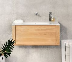 Wash basins | Wash basins | Oak Bathroom Qualitime | Ethnicraft. Check it out on Architonic