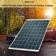 30w 12v Semi Flexible Solar Panel Device Battery Charger Kit Solar Panels Solar Panel Charger Solar