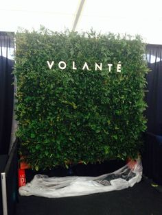 Volantè created a live green wall for their appearance at Portland's FashioNxt. Such a fun event to be a part of.