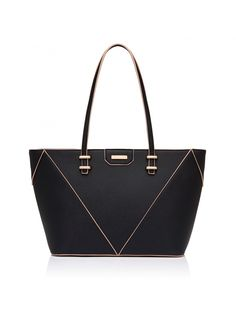 For covetable style and timeless elegance, finish your look with our Katie Spliced Tote Bag