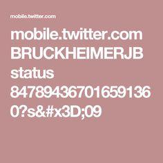mobile.twitter.com BRUCKHEIMERJB status 847894367016591360?s=09