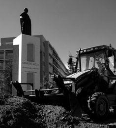 Cidadãos de Braga convocam protesto contra estátua do cónego Melo