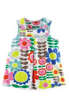 Mini Boden 'Pinnie' Corduroy Pinafore Dress (Baby Girls) | Nordstrom