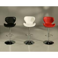 Pastel Furniture Cagliari Adjustable Height Bar Stool & Reviews | Wayfair $225