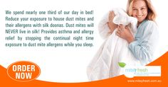 Allergy Relief, Healthy Sleep, Dust Mites, Asthma, Night Time, Allergies, Did You Know, Mental Health, Third