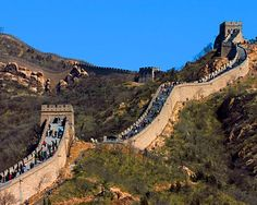 Great Wall of China - did you know you can take a alpine slide down? It's the quick way down.