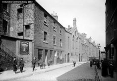 Hunter Street, Dundee taken from the juntion with the Hawkhill (now the Old Hawkhill | Photopolis