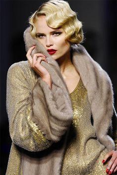 Jean Paul Gaultier ... so Gatsby                                                                                                                                                                                 More