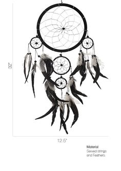 The traditional dream catcher was intended to protect the sleeping individual from negative dreams, while letting positive dreams through. The positive dreams would slip through the hole in the center of the dream catcher, and glide down the feathers to the sleeping person below. The negative dreams would get caught up in the web, and expire when the first rays of the sun struck them. Each loop would present one of the most common categories of bad dreams.