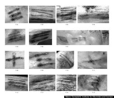New Tattoo Discovered On Ötzi The Iceman Mummy. Since many of the Iceman's tattoos correspond to classic acupuncture points, the researchers previously thought that they were applied as part of a treatment for joint pain. But the new tattoo throws that theory into question, since it isn't located near a joint--though it may have been used as some sort of treatment for chest pain. click through