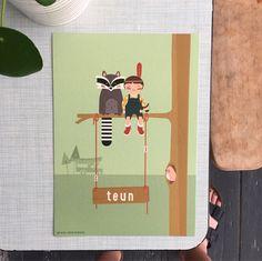 Wasbeer en indiaan op boevenpad!
