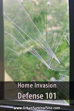 Home Invasion Defense 101. When times are tough and people are desperate, even secure looking homes will be at risk. Just in case a criminal gets around your security and breaks into your home, here a few suggestions.#Urbansurvivalsite #Homeinvasion #Homedefense #SHTF