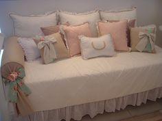 (CAA 0019) Conjunto cama da babá | PIPEeGUCA DECORAÇÃO INFANTIL | Elo7