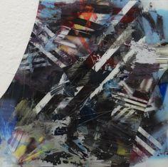 Untitled Mixed media on reverse glass Thomas Bestvina Mixed Media, Paintings, Glass, Drinkware, Painting, Draw, Mixed Media Art, Portrait, Resim