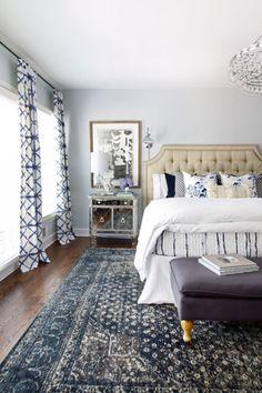 The Cozy Blue Bedroom