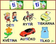 SOUHLÁSKY MĚKKÉ :: Béčko-Tc Štístkové Teaching, Comics, Logos, A Logo, Learning, Education, Comic Book, Comic Books, Comic