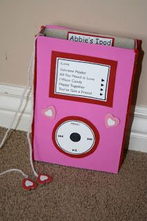 iPod Valentine's Box...making this for Claire!!!