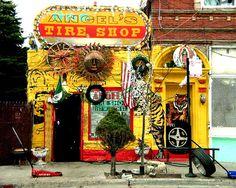 Tyre Shop, Pilsen, Chicago