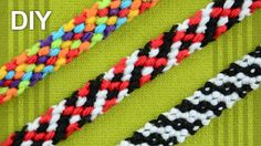 Rag Rug Friendship Bracelet / DIY Tutorial
