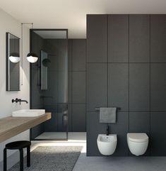 10 Charming Minimalist Bathroom Design Inspiration You Need to Apply Zen Bathroom, Chic Bathrooms, Bathroom Layout, Small Bathroom, Japanese Bathroom, Bathroom Ideas, Minimalist Bathroom Design, Modern Bathroom Design, Bathroom Interior Design