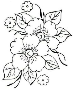 Grand Sewing Embroidery Designs At Home Ideas. Beauteous Finished Sewing Embroidery Designs At Home Ideas. Embroidery Flowers Pattern, Hand Embroidery Designs, Vintage Embroidery, Flower Patterns, Flower Designs, Embroidery Stitches, Machine Embroidery, Embroidery Sampler, Japanese Embroidery