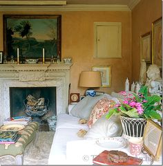 """Nicholas Haslam """"Folly de Grandeur – Romance and Revival in an English Country House."""""""