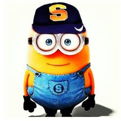 Syracuse Minion! Who knew? @Syracuse Athletics #cuse #orange #minions #despicableme