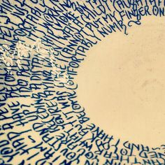 Lyric bowls from £50 GBP Numb Lyrics, Pink Floyd Comfortably Numb, Hand Lettering, Bowls, Pottery, Key, Artists, Handmade, Gifts
