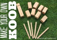 OMG this game looks like so much fun!!!! Make Your Own KOOB from Let's Get Together