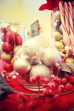 Budget Friendly Christmas Centerpiece DIY