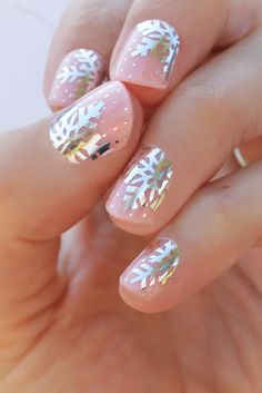 Your at-home mani just got a whole lot cooler (and easier) thanks to these peel and stick nail wraps.