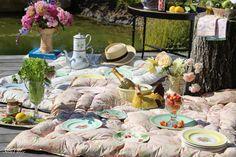 Vintage English Garden Party | Slim Paley