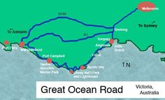 Your Step-by-Step Plan for the Ultimate Ocean Road Australia Trip: Great Ocean Road Map