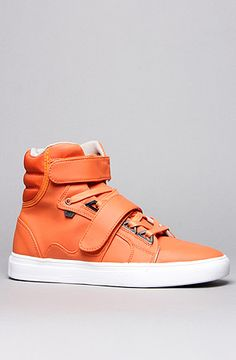 The Propulsion Hi Sneaker in Orange  AH by Android Homme