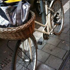 Cool bycicle in Prati, Rome